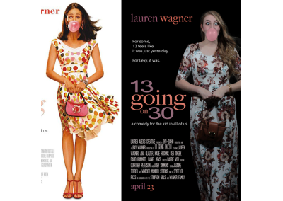 13 going on 30: Movie Poster