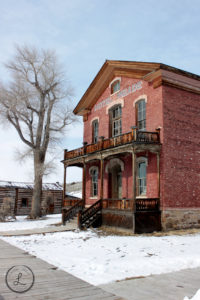 bannack montana, ghost town, architecture photography, bannack hotel