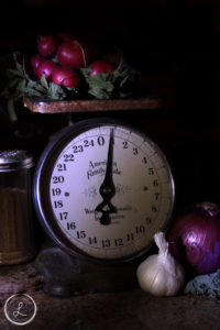 light paint, indoor light painting, table top light painting, fresh produce, vegetables, organic, healthy eating