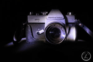 light paint, indoor light painting, table top light painting, vintage camera, still life photography