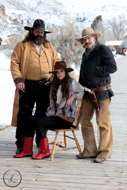 bannack montana, ghost town, group of cowboys, group photography, group portrait, cow boys