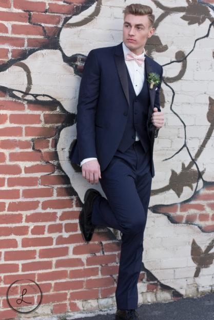 Groom portrait, wedding fashion, groom, Mens fashion, Man in suit, navy suit