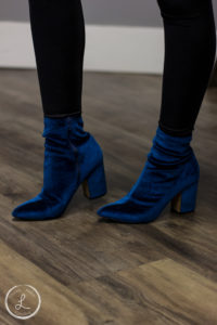 Womens fashion, velvet shoes, blue shoes, womens heels, womens fashion accessory