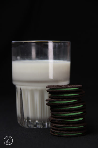 Stock Photography, Mint Milk and Cookies, Sweets, desserts,